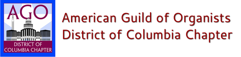 American Guild of Organists District of Columbia Chapter